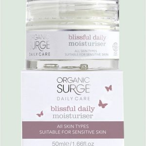 Organic Surge Blissful Daily Moisturiser - 50ml
