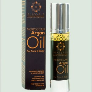 Alassala Moroccan Organic Argan Oil For Face & Body