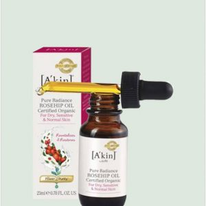 Akin Pure Radiance Rosehip Oil - Certified Organic - 23ml