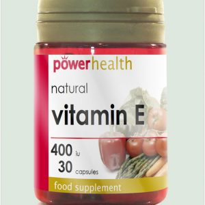 Natural Vitamin E 400IU 30s