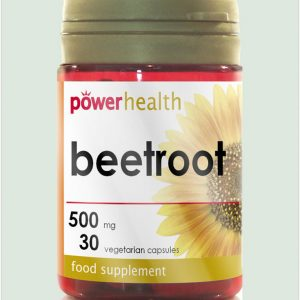 Beetroot Capsules 500mg 30s