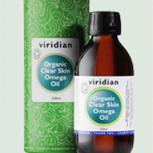 100% Organic Clear Skin Omega Oil 200ml