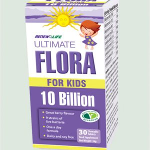 Ultimate Flora For Kids 30 chewable tablets