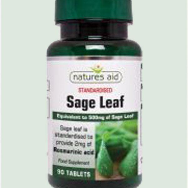 Sage Leaf 50 mg 90vegcaps