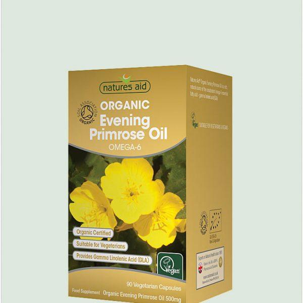 Evening Primrose Oil (Organic) 500mg 90caps