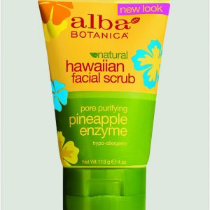 Alba Botanica Pineapple Enz Facial Scrub 118ml