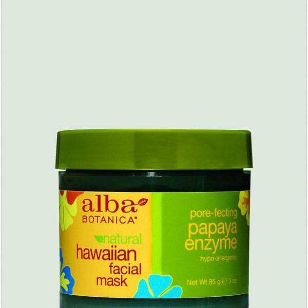 Alba Botanica Papaya Enzyme Facial Mask 85g