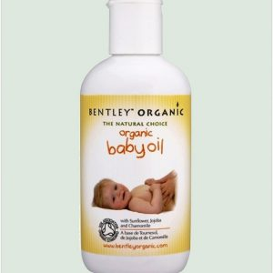 Bentley Organic Baby Oil With Sunflower, Jojoba And Chamomile 250ml