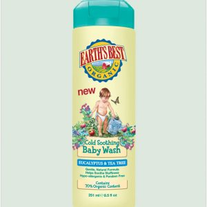 Jason Earth's Best Cold Soothing Baby Wash 250ml