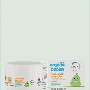 Organic Babies Nappy Cream Balm 40ml