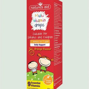 Multivitamin Drops For Infants & Children 50ml
