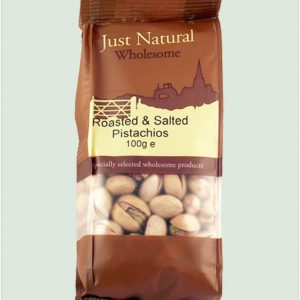 Pistachios Roasted & Salted 100g