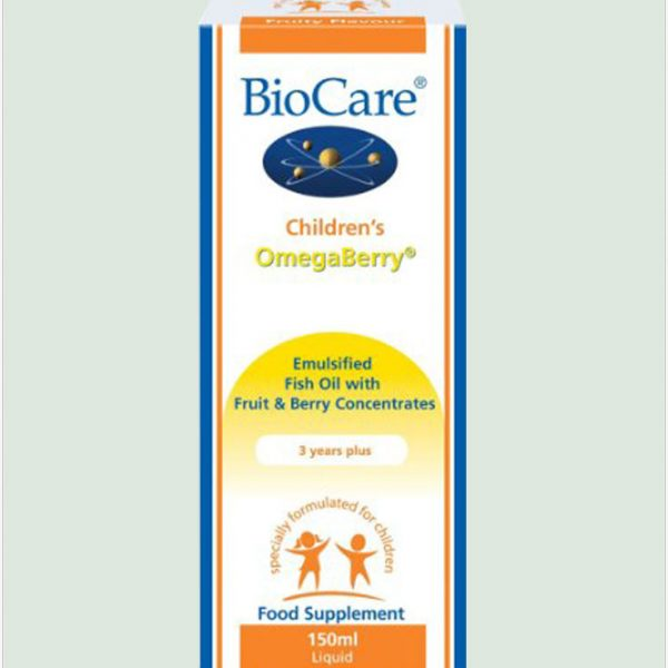 Children's OmegaBerry (Omega-3 Fish Oil) 150ml