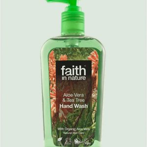 Faith in Nature Aloe Vera and Tea Tree Handwash