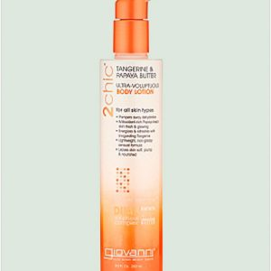 Giovanni 2chic Tangerine & Papaya Butter Ultra-Voluptuous Body Lotion